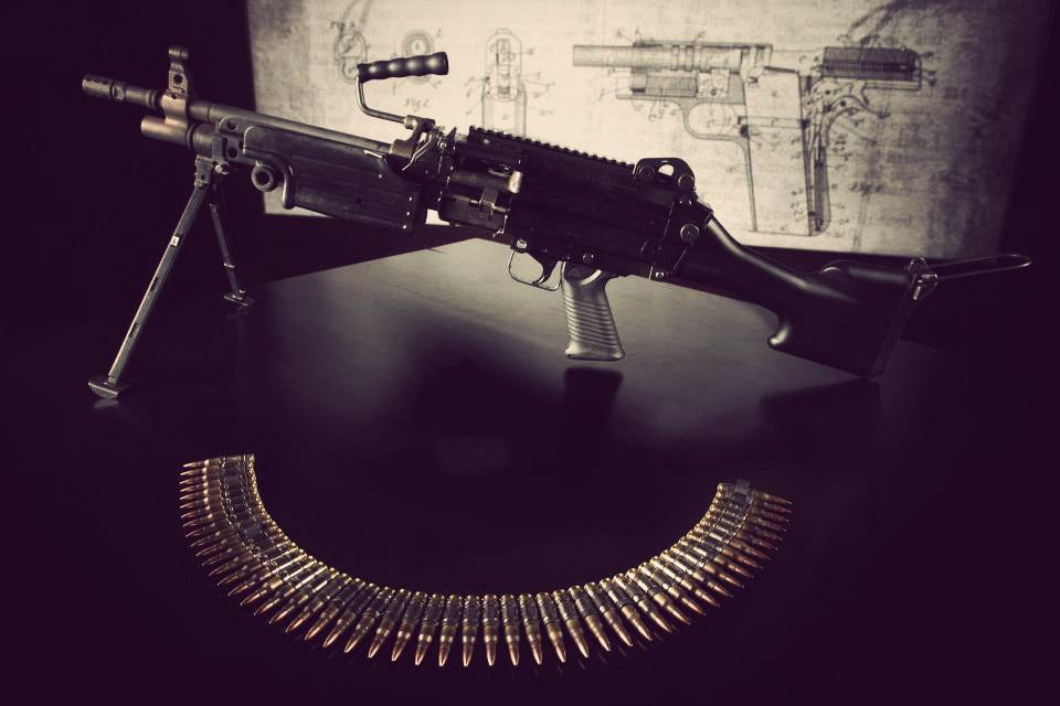 las vegas machine gun rentals
