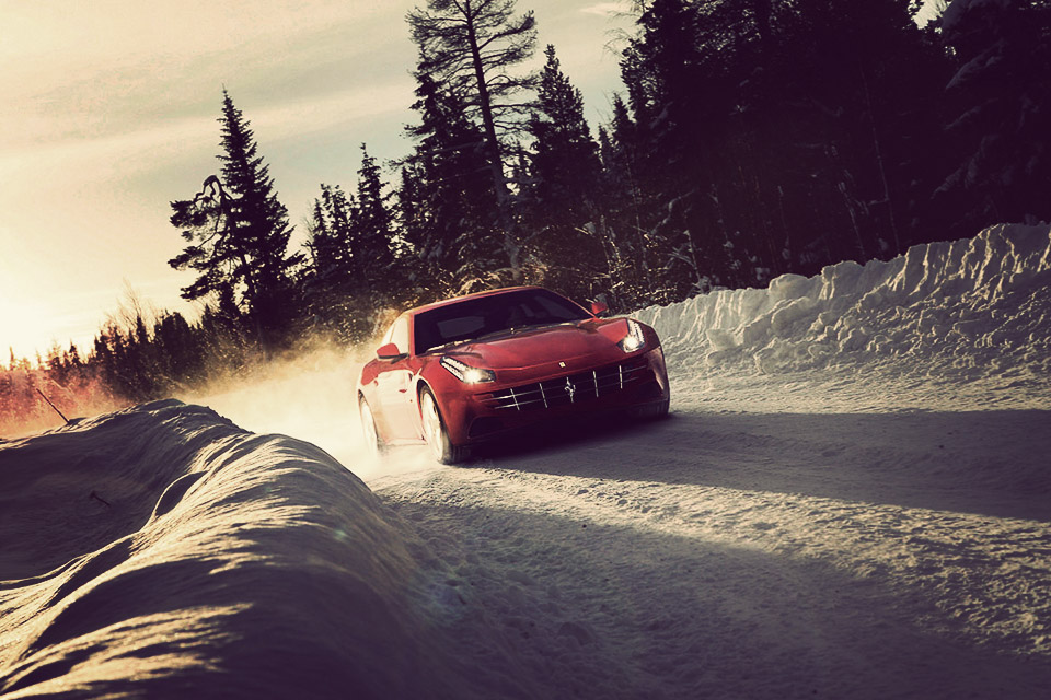 Ferrari Winter Driving Experience