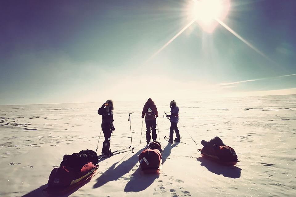 south pole ski 1