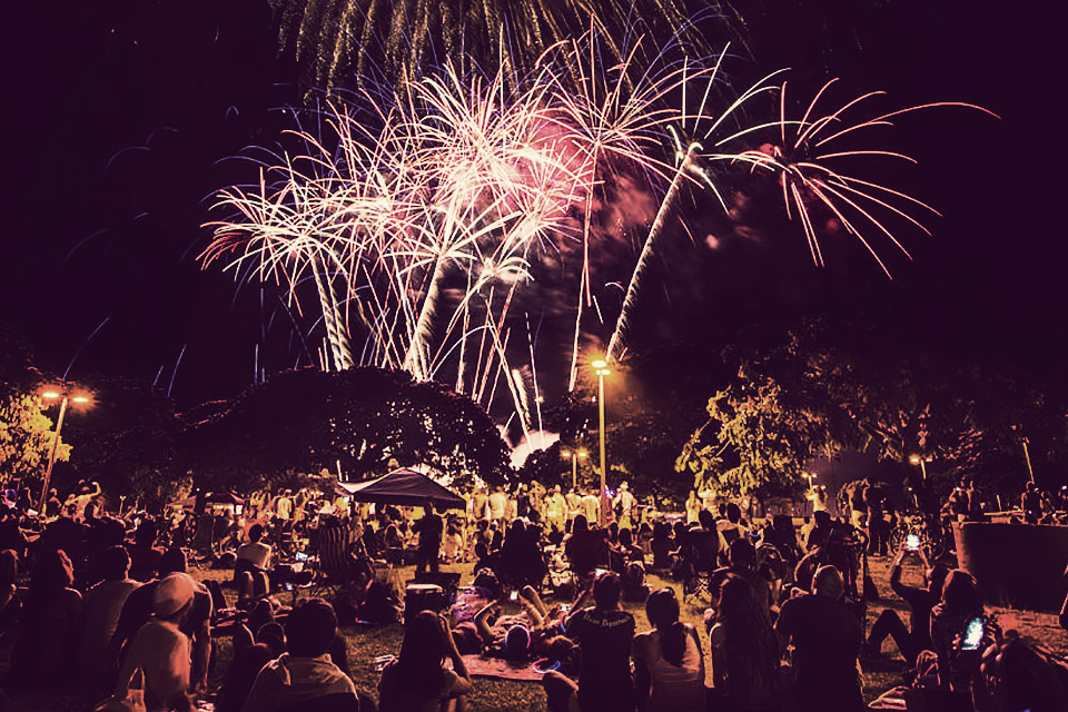 Ala Moana Fireworks